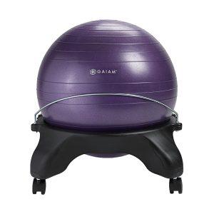 backless gaiam balance ball seat