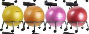 balance ball chair by isokinetics