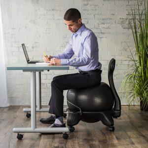 gaiam balance ball chair for office