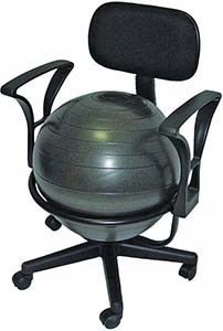 cando metal ball chair review