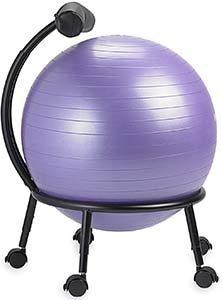 gaiam custom fit ball chair